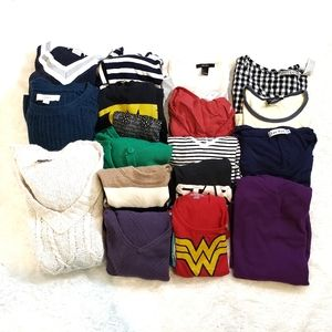 Assorted Tops-Lot